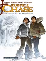 Russell Chase T2 : Le fantôme de l'Himalaya (0), bd chez Les Humanoïdes Associés de Nolane, Del Vecchio, Studio KMzero