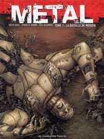 Metal T1 : La bataille de Méridia (0), bd chez Les Humanoïdes Associés de Brown, Guice