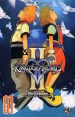 Kingdom hearts II T1, manga chez Pika de Shiro