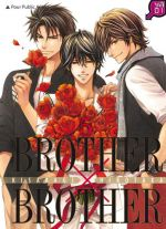Brother x brother T5, manga chez Taïfu comics de Kisaragi