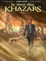 Le Vent des Khazars T2, bd chez Glénat de Halter, Makyo, Nardo, Quaresma