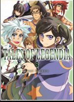 Tales of legendia T6, manga chez Ki-oon de Fujimura