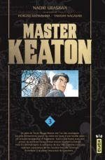 Master Keaton T3, manga chez Kana de Katsushika, Nagasaki, Urasawa