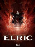 Elric T1 : Le trône de rubis (0), bd chez Glénat de Blondel, Recht, Poli, Bastide