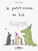 Le Petit monde de Liz, comics chez Delcourt de Climo