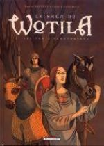 La Saga de Wotila T2 : Les trois sanctuaires (0), bd chez Delcourt de Chicault, Pauvert