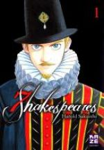 7 Shakespeares T1, manga chez Kazé manga de Sakuishi