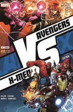 Avengers vs X-Men – Extra, T4 : Vs (3/3) (0), comics chez Panini Comics de Gillen, Bendis, Fraction, Aaron, Yu, Mahfood, Raney, Cheung, Alanguilan, Curiel, Charalampidis, Gho