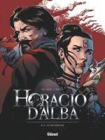 Horacio d'Alba T2 : Le roi soldat (0), bd chez Glénat de Legris, Siner