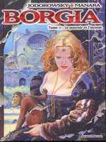 Borgia T2 : Le pouvoir et l'inceste (0), bd chez Albin Michel de Jodorowsky, Manara
