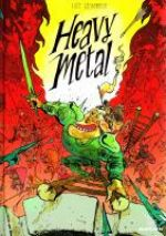 Heavy metal, bd chez Gallimard de Sécheresse