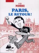 Paris, le retour, manga chez Philippe Picquier de Nishi