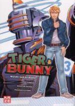 Tiger & bunny T3, manga chez Kazé manga de Nishida, Sakakibara