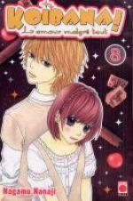 Koibana - l'amour malgré tout  T8, manga chez Panini Comics de Nanaji