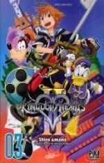 Kingdom hearts II T3, manga chez Pika de Shiro