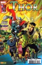 Thor – Revue V 2, T11 : La bande d'en face (0), comics chez Panini Comics de Gage, Gillen, Fraction, Grummet, Davis, Di Giandomenico, McKelvie, Rodriguez, Bellaire
