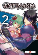 Antimagia T2, manga chez Bamboo de Kyu