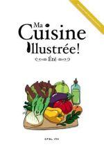 Ma Cuisine Illustrée T4 : Eté (0), bd chez Ankama de Kness, Collectif, Grelin