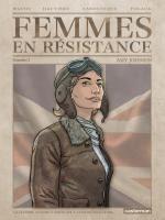Femmes en résistance T1 : Amy Johnson (0), bd chez Casterman de Laboutique, Hautière, Polack, Wachs, Domnok