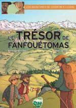 Les Aventures de Quentin et Louis T1 : Trésor de Fanfouétoma (0), bd chez Praz sur Arly de Jaccaz, Bouima