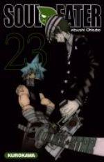 Soul eater T23, manga chez Kurokawa de Ohkubo