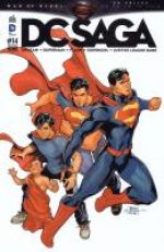 DC Saga T14, comics chez Urban Comics de Green, Lemire, Johns, Lobdell, Manapul, Buccellato, Johnson, Frank, Asrar, Janin, Rocafort, Basri, Anderson, Herring, Gho, McCaig, Arreola, Dodson