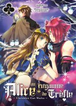 Alice au royaume de trèfle T2, manga chez Ki-oon de Quinrose, Fujimaru
