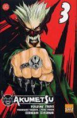 Akumetsu  T3, manga chez Taïfu comics de Tabata, Yogo