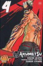 Akumetsu  T4, manga chez Taïfu comics de Tabata, Yogo