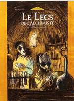 Le legs de l'alchimiste T4 : Maître Helvetius, bd chez Glénat de Hubert, Bachelier