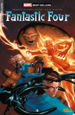 Marvel Best-Sellers T4 : Fantastic Four - Quatre (0), comics chez Panini Comics de Aguirre-Sacasa, McNiven, Hollowell