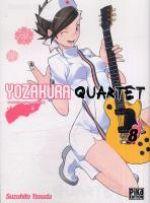 Yozakura quartet T8, manga chez Pika de Suzuhito