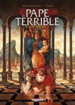 Le pape terrible T3 : La pernicieuse vertu (0), bd chez Delcourt de Jodorowsky, Caneshi, Bossard
