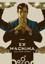 Ex Machina T1, comics chez Urban Comics de Vaughan, Harris, Mettler