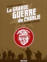 La grande guerre de Charlie T5 : Les tranchées d'Yprès (0), comics chez Delirium de Mills, Colquhoun