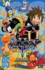 Kingdom hearts II T5, manga chez Pika de Shiro