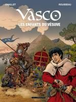 Vasco T25 : Les enfants du Vésuve (0), bd chez Le Lombard de Chaillet, Rousseau, Defachelle
