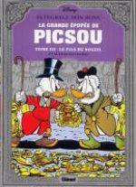 La Grande épopée de Picsou T3 : Le fils du soleil (0), comics chez Glénat de Rosa