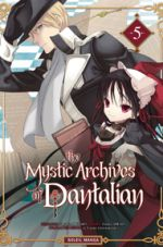 The mystic archives of Dantalian T5, manga chez Soleil de Mikumo, Abeno, Yusuke (Green Wood)