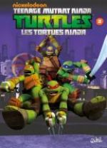 Teenage Mutant Ninja Turtles – cycle 1 : Les Tortues Ninja, T2 : La Menace des Kraang (0), comics chez Soleil de Sternin, Ventimilia, Eisinger