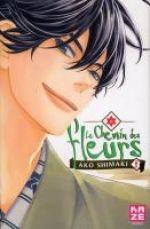 Le Chemin des fleurs T8, manga chez Kazé manga de Shimaki
