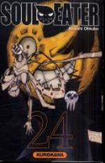Soul eater T24, manga chez Kurokawa de Ohkubo