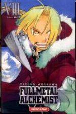 Fullmetal Alchemist - edition double T8, manga chez Kurokawa de Arakawa