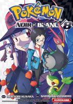 Pokémon noir et blanc T8, manga chez Kurokawa de Kusaka, Yamamoto