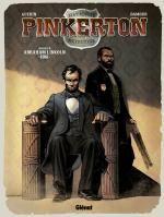 Pinkerton T2 : 1861 - Dossier Abraham Lincoln (0), bd chez Glénat de Guérin, Damour, Francescutto