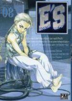 E'S T8, manga chez Pika de Hiura