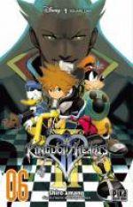 Kingdom hearts II T6, manga chez Pika de Shiro