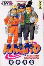 Naruto T21, manga chez Kana de Kishimoto