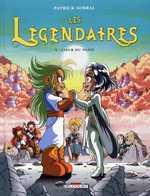 Les Légendaires T5 : Coeur du passé (0), bd chez Delcourt de Sobral