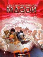 Les chroniques de Magon T4 : Exil (0), bd chez Delcourt de Jarry, Lapeyre, Brants